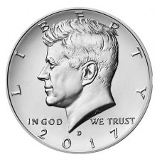 Kennedy Half Dollar Expanded Shell