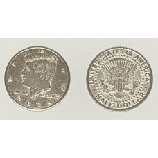 Palming Coins - Kennedy Half Dollar