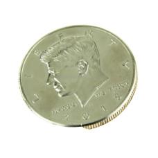 Kennedy Half Dollar Slippery Sam Shell