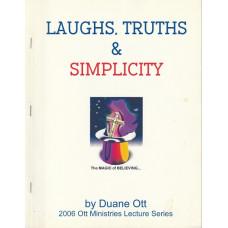Laughs, Truths & Simplicity - Book by Duane Ott