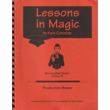 Lessons in Magic #8 - Manuscript by Kent Cummins