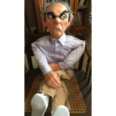 Ventriloquial Figure Mr. Fleuger - Made by Dan Payes Puppetry