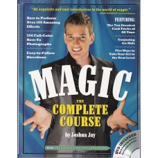 Magic The Complete Course by Joshua Jay - Book and DVD