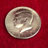 Kennedy Half Dollar - Magnetic