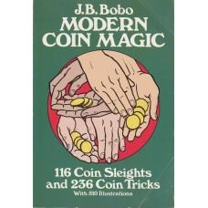 Modern Coin Magic - Book by J. B. Bobo