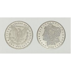 Palming Coins - Morgan Dollar