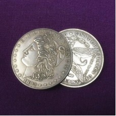 Morgan Dollar Replica Gravity Flipper Coin