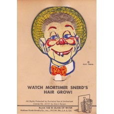 Mortimer Snerd Chia Hair Souvenir Postcard
