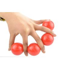 Multiplying Billiard Balls - Red - SOLID RUBBER