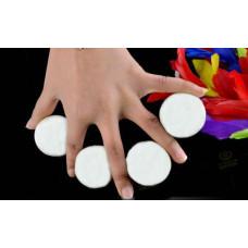 Multiplying Billiard Balls - White - SOLID RUBBER