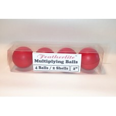 Multiplying Billiard Balls - RED Featherlite