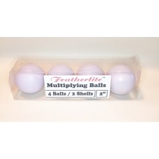 Multiplying Billiard Balls - WHITE Featherlite