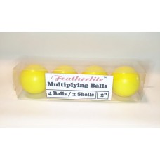 Featherlite Multiplying Billiard Balls - YELLOW