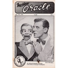 The New Oracle Magazine Volume 3 Number 1 - Paul Winchell Cover