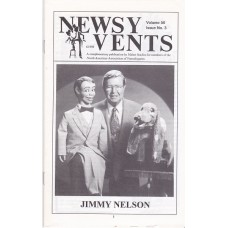 Newsy Vents Magazine Volume 50 Number 3 - Jimmy Nelson Cover