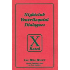 Nightclub Ventriloquial Dialogues -  Book by Col. Bill Boley