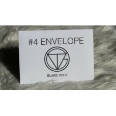 Number 4 Envelope - Blake Vogt