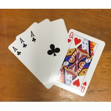 The Only Three Card Trick in the World Using Four Cards