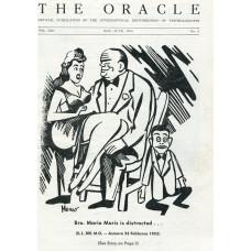The Oracle Magazine Volume 13 Number 3 - Mario Maris Cover