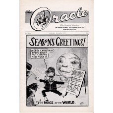 The Oracle Magazine Volume 16 Number 6 - Seasons Greetings Cover