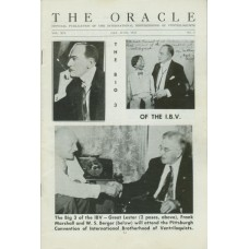 The Oracle Magazine Volume 14 Number 3 - IBV Big Three Cover