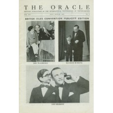 The Oracle Magazine Volume 14 Number 4 - British Isles Convention Cover