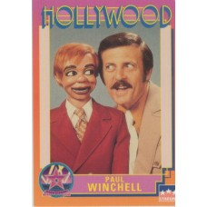 Paul Winchell Hollywood Walk of Fame Collector Card