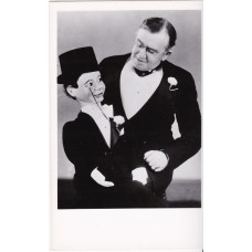 Postcard - W.S. Berger with Ventriloquial Figure