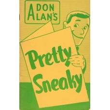 Pretty Sneaky book - Don Alan
