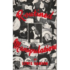 Routined Manipulation Part One and Two Combined - Book by Lewis Ganson