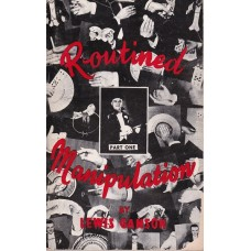 Routined Manipulation Part One book - Lewis Ganson