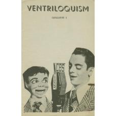 Roy Douglas 1948 Catalog of Ventriloquial Figures