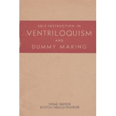 Self-Instruction in Ventriloquism and Dummy Making - Book by Natalie Morgan