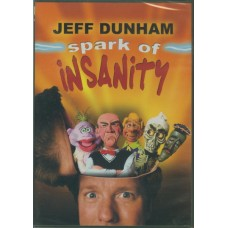 Spark of Insanity DVD by Jeff Dunham
