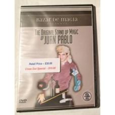 The Original Stand Up Magic of Juan Pablo Vol. 2 -- DVD