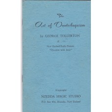The Art of Ventriloquism - Book by George Tollerton