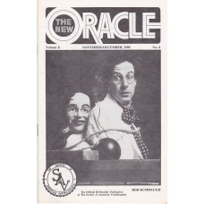 The New Oracle Magazine Volume 10 Number 6 - Bob Rumba Cover