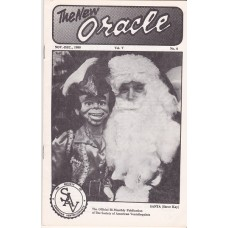The New Oracle Magazine Volume 5 Number 6 - Santa Steve Kay Cover