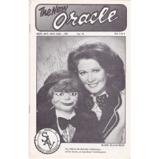 The New Oracle Magazine Volume 6 Number 5-6 - Marie McLaughlin Cover