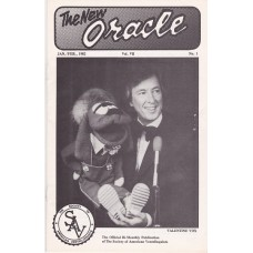 The New Oracle Magazine Volume 7 Number 1 - Valentine Vox Cover