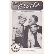 The New Oracle Magazine Volume 7 Number 5 - Grover Ruwe Cover