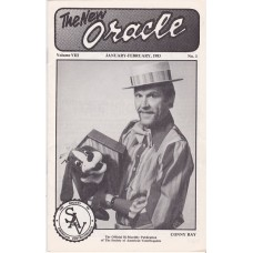 The New Oracle Magazine Volume 8 Number 1 - Conny Ray Cover