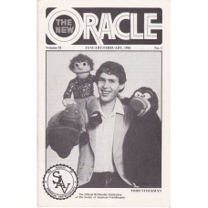The New Oracle Magazine Volume 9 Number 1 - Todd Stockman Cover