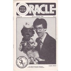 The New Oracle Magazine Volume 9 Number 4 - Gary Owen Cover