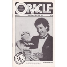 The New Oracle Magazine Volume 9 Number 5 - Brad Cummings Cover