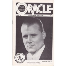 The New Oracle Magazine Volume 9 Number 6 - Douglas Craggs Cover