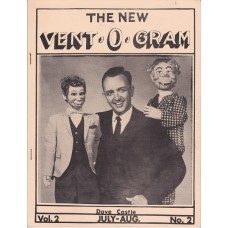 The New Vent-O-Gram Magazine Volume 2 Number 2 - Dave Castle Cover