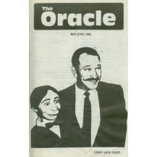 The Oracle Magazine - Justian Version - May-June 1986 - Jack Coats Cover