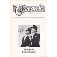 The Oracle Magazine Volume 19 Number 2 - Bergen and McCarthy Cover