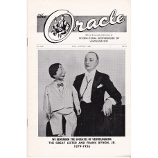 The Oracle Magazine Volume 19 Number 4 - Great Lester Cover